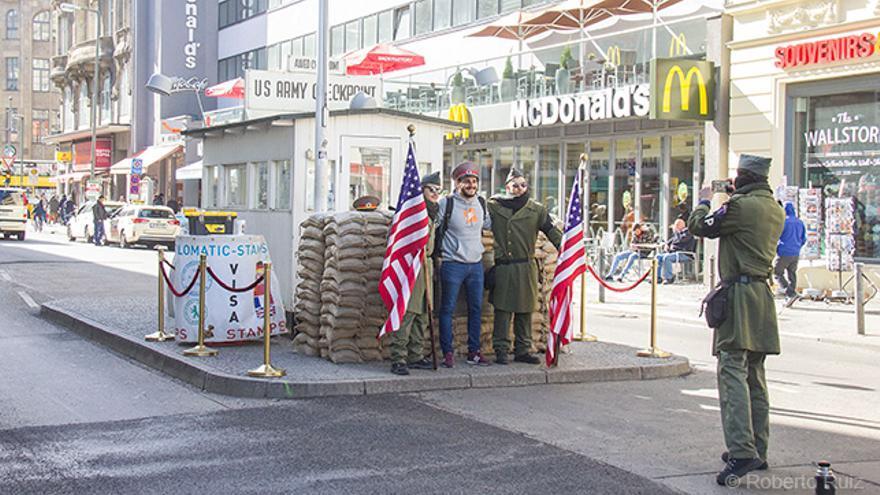 Muro de Berlín, Checkpoint Charlie