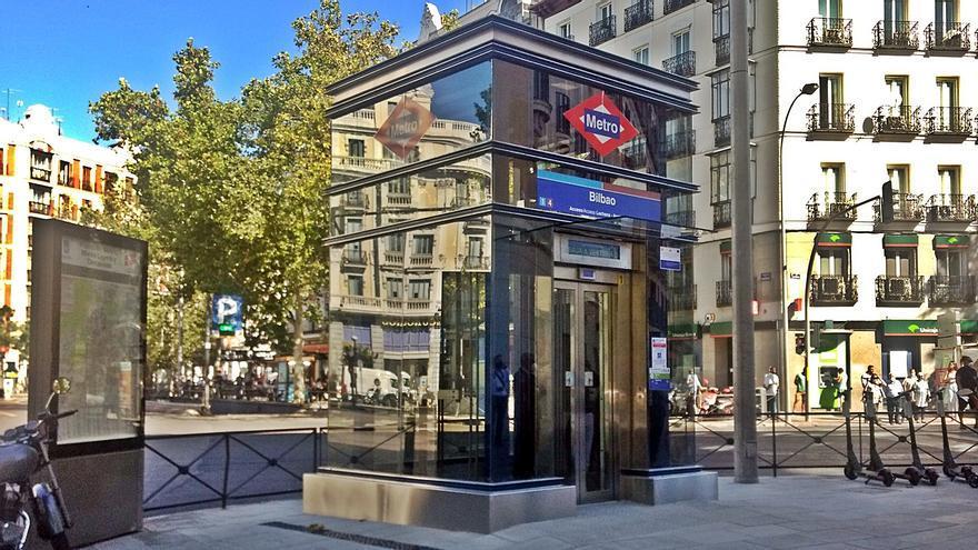 Nuevo ascensor de Metro en la estación de Bilbao | SOMOS CHAMBERÍ