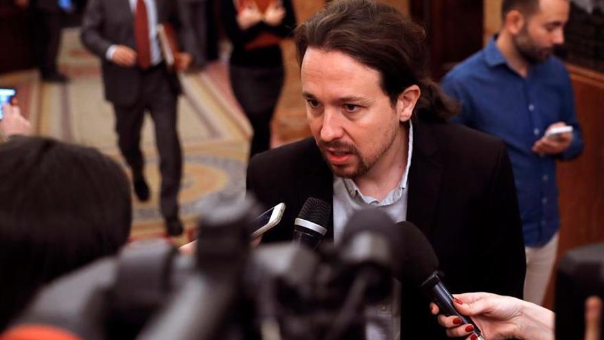 Iglesias espera sacar adelante su ley de regla de gasto con el apoyo del PSOE