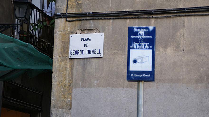 Plaza George Orwell, Barcelona | Wikipedia commons