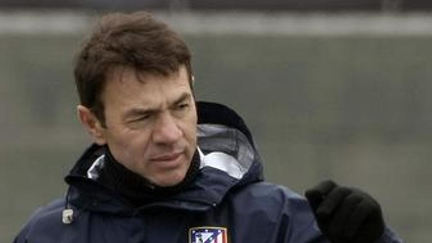 Entrenador del Atlético de Madrid, Abel Resino