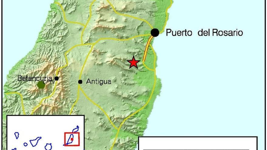 Mapa del Instituto Geográfico Nacional.