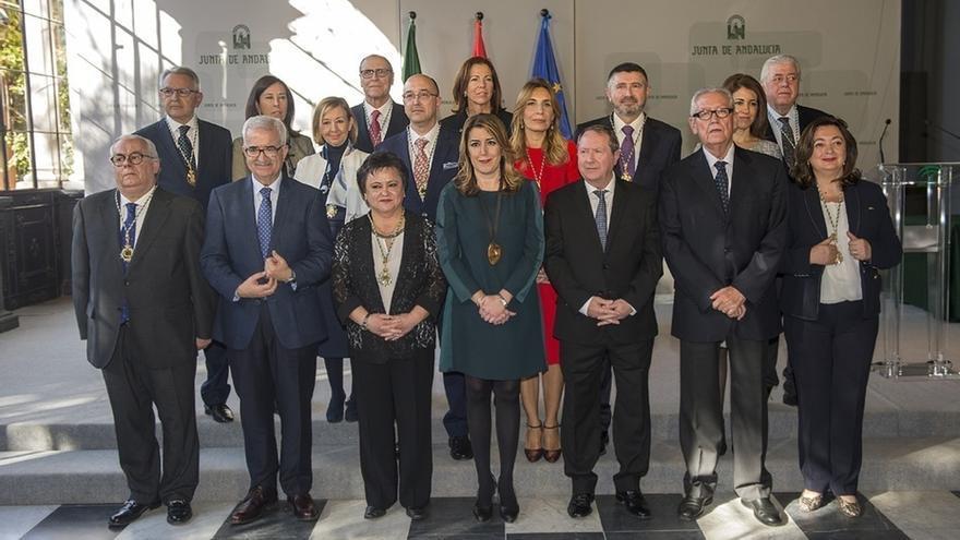 Susana Díaz preside la toma de posesión de los nuevos miembros del Consejo Consultivo