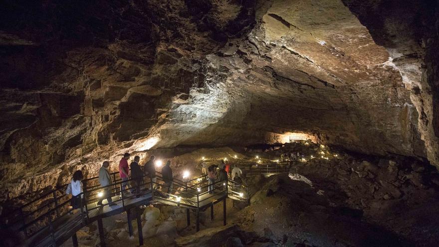 El Pendo, primera cueva declarada Patrimonio Rupestre y Europeo del Consejo de Europa