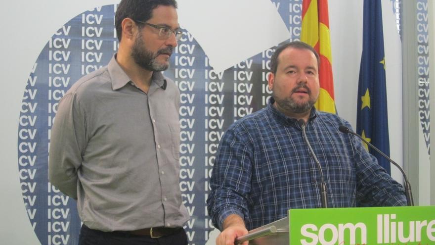 """ICV-EUiA pide a la Generalitat que """"no haya dudas"""" sobre la celebración del 9N"""