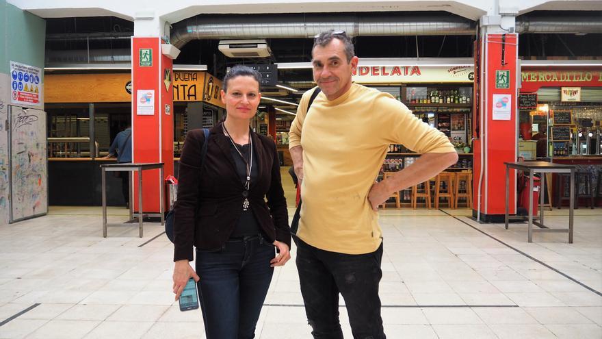 Josefina García y Miguel Fraga, los líderes del grupo de inversión que ha comprado once locales en el mercado de San Fernando