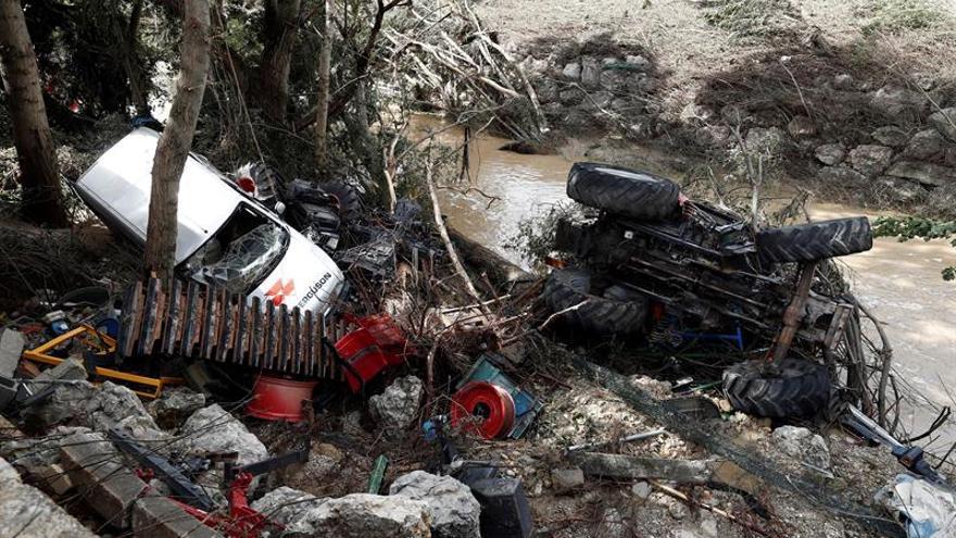 Navarra declara zona catastrófica en 13 municipios por las inundaciones