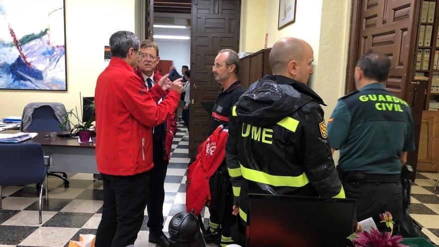 """Puig expresa el dolor por las víctimas y garantiza que """"quienes se han quedado sin nada tendrán cobertura"""""""