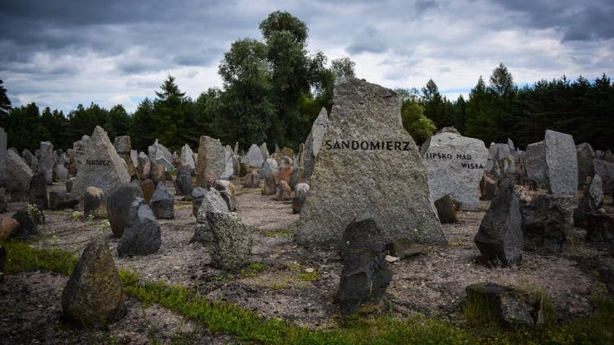 Campo de concentración en Polonia