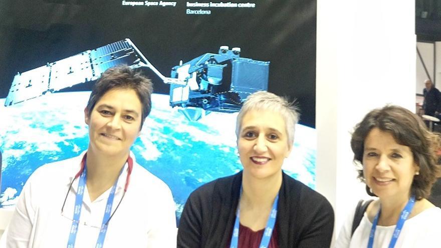 Milena y Claudia Orlandini y Ángela Bedoya son las tres fundadoras de Tinkerers Lab