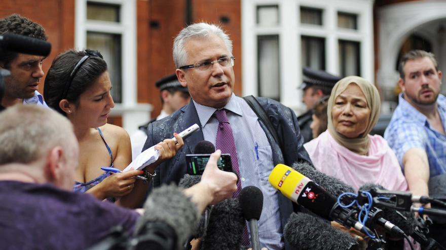 """Baltasar Garzón dice un """"gran jurado secreto"""" en EE.UU. investiga a Assange"""