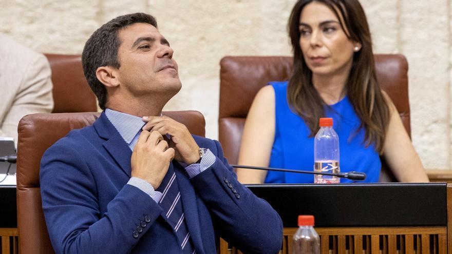 Cs Andalucia cambia la dirección del grupo parlamentario y Marín niega crisis
