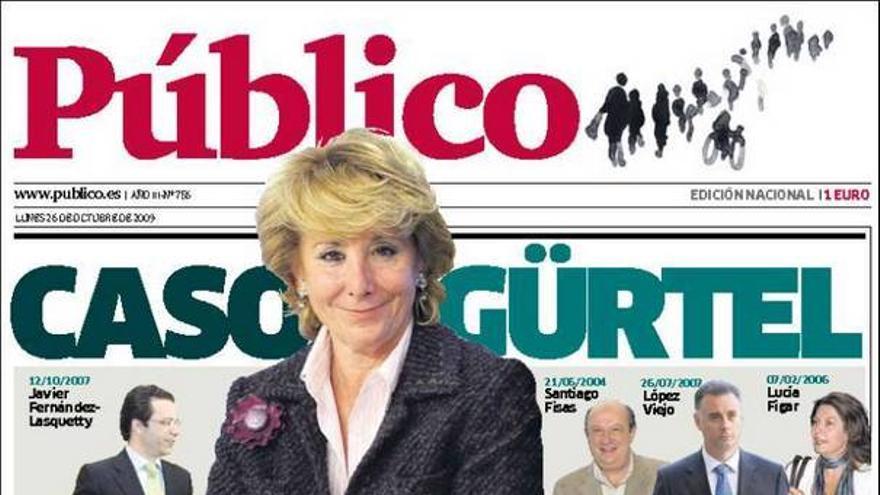 De las portadas del día (26/10/09) #1