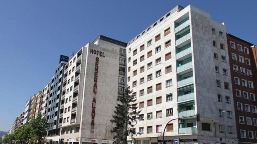 La fachada que iba a ocupar 'Bienvenida - Ongi etorria', de Irantzu Lekue