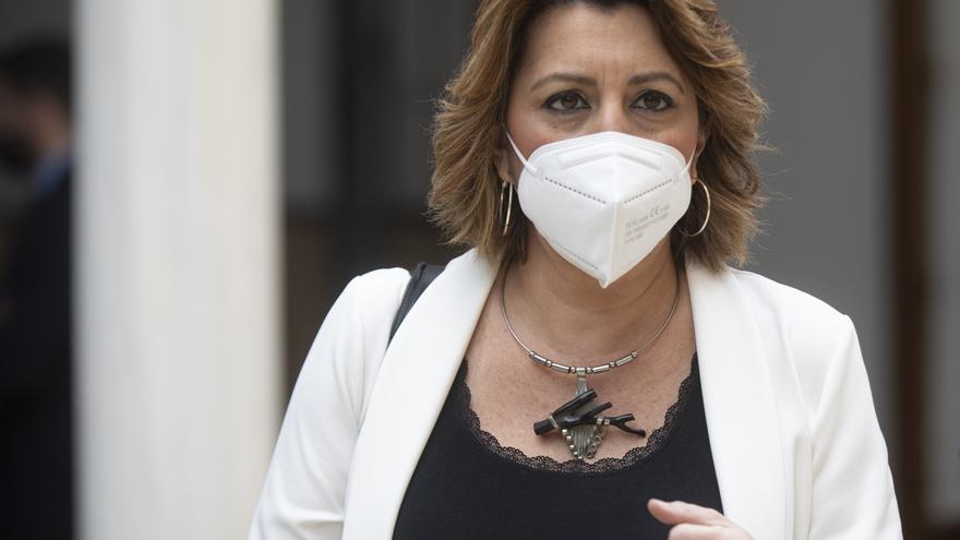 La secretaria general del PSOE-A, Susana Díaz, en una foto de archivo.