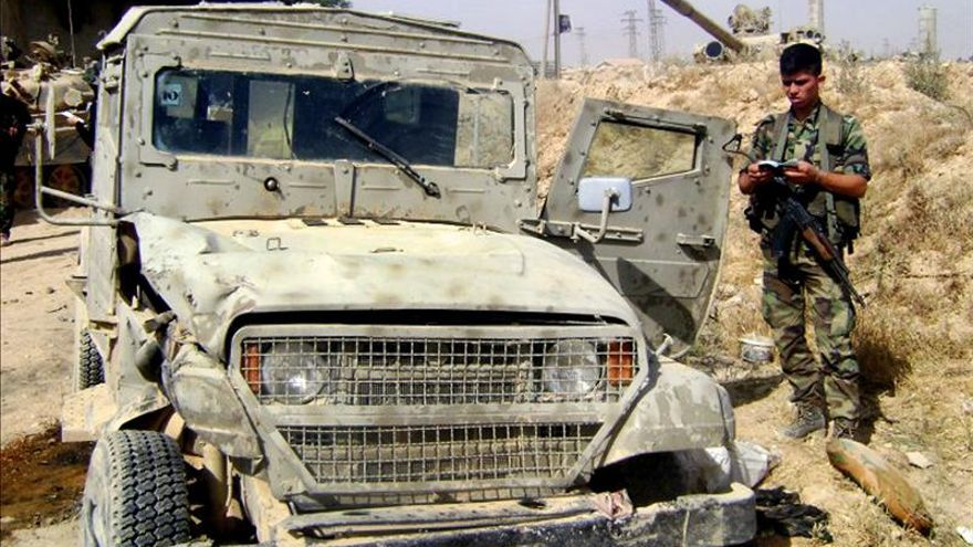 Las fuerzas del régimen sirio bombardean por cuarto día consecutivo Al Quseir