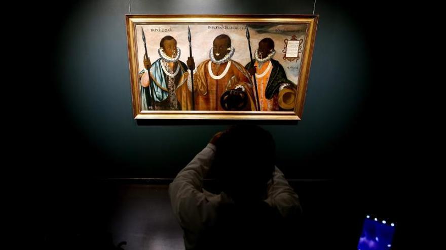 """Museo de Ecuador recibe la obra virreinal """"Mulatos de Esmeraldas"""" de 1599"""