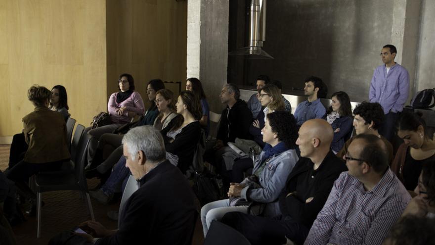 Imagen del primer taller que se realizó en Madrid. / Agrolab Madrid