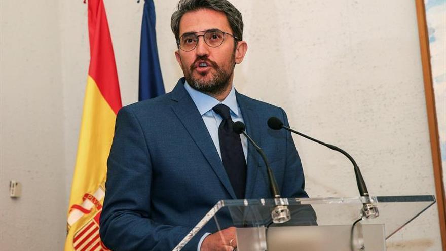 Huerta orgulloso de que el Ministerio de Cultura vuelva al mapa del Gobierno