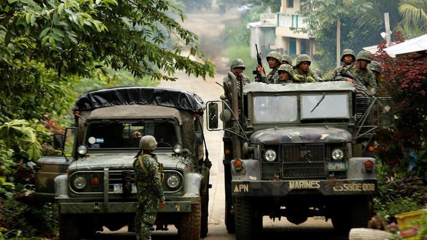 El conflicto con los yihadistas en Marawi alcanza los 630 muertos