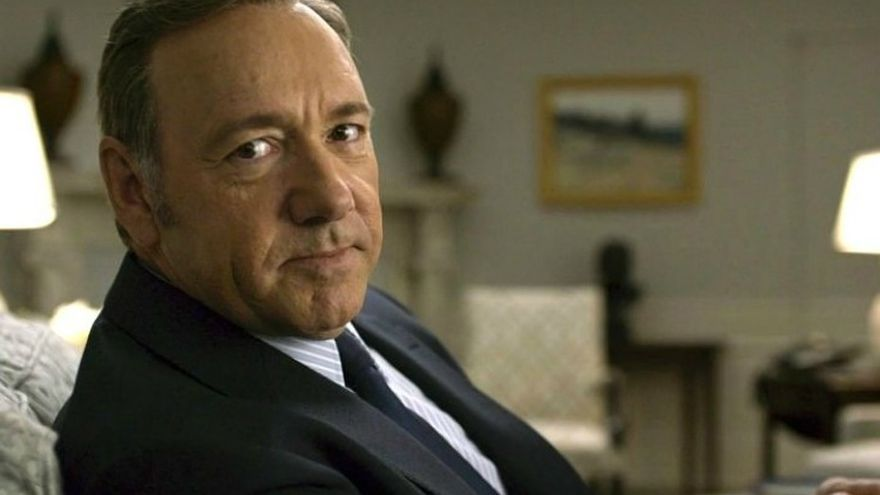 Kevin Spacey en la serie 'House of cards'