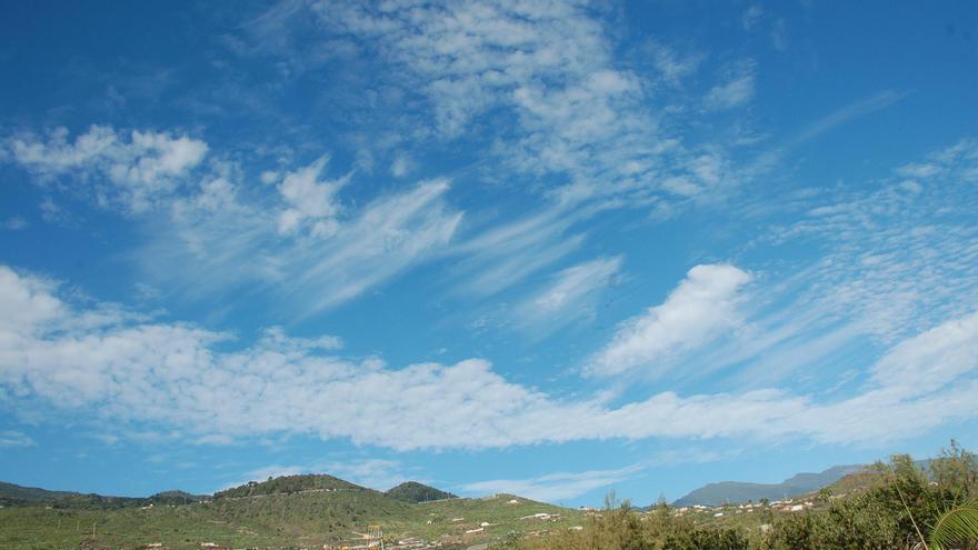 Temperaturas en ligero ascenso de las máximas  este sábado en La Palma