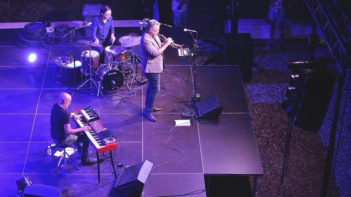 Un concierto de jazz en Priego de Córdoba.