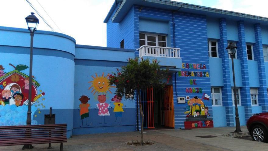 En la imagen, escuela de Buenavista.