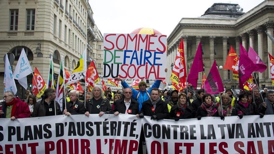 Polémica en Francia por el proyecto para endurecer el control de los parados