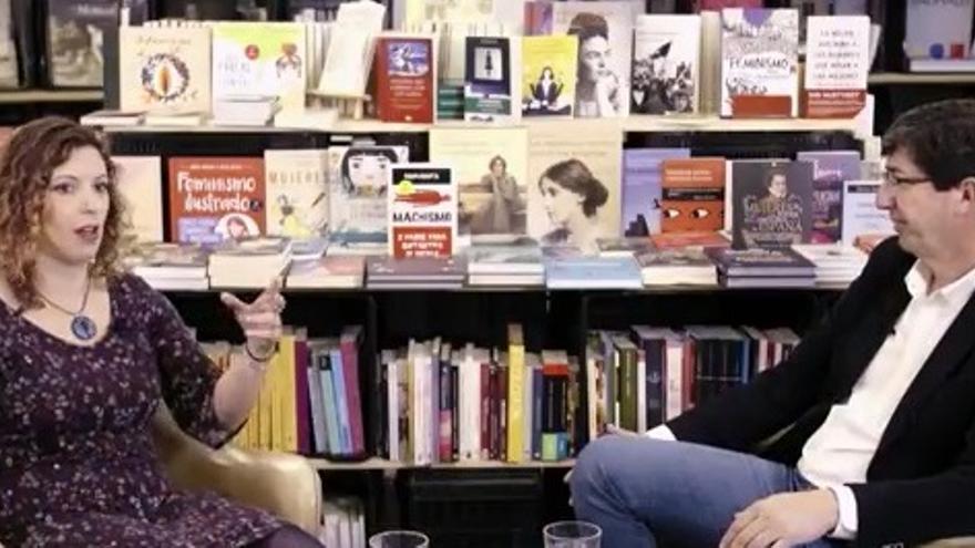 Juan Marí y Lucía Rojo conversan sobre igualdad y feminismo