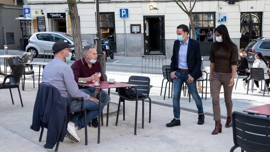 Las ampliaciones de terrazas en Madrid se extienden hasta el 31 de diciembre de 2021