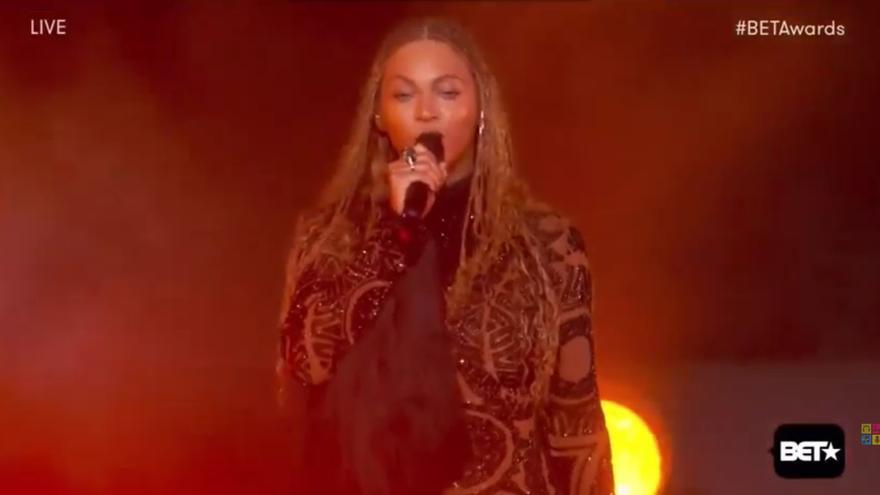 Beyonce en los BET Awards