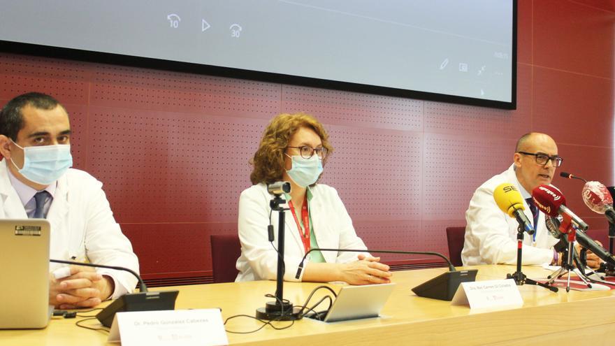 El equipo directivo del Hospital del Vinalopó.