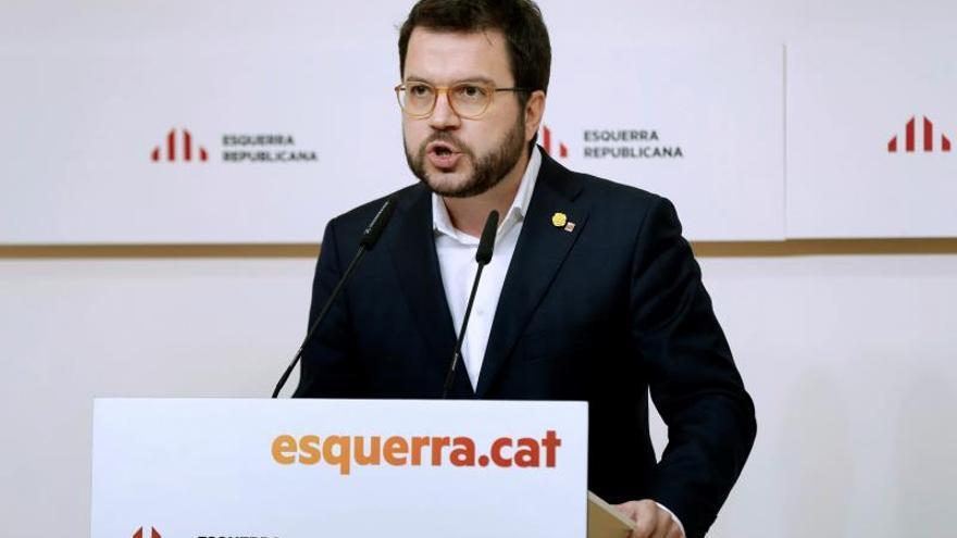 El vicepresidente del Govern y coordinador nacional de ERC, Pere Aragonès.
