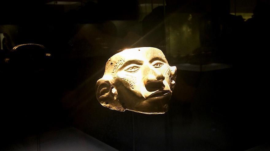 La máscara antropomorfa del valle del Cauca, Tierradentro. | Alba Muñoz.