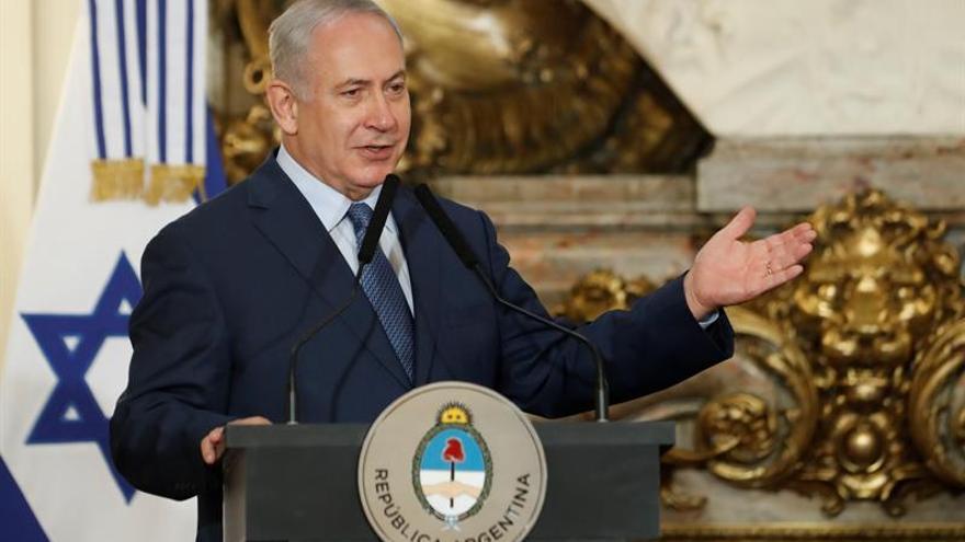 Cartes y Netanyahu abogan por reforzar el nexo bilateral en una reunión en Argentina