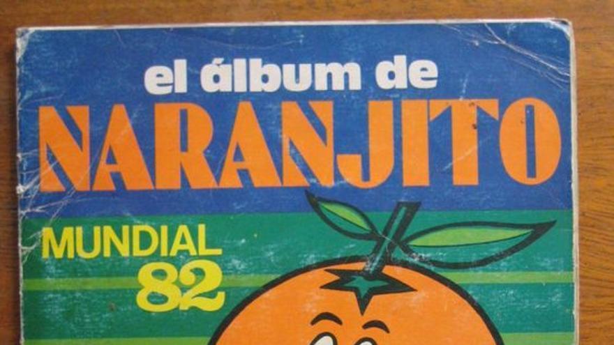 Álbum de cromos del Mundial de Fútbol de España de 1982.