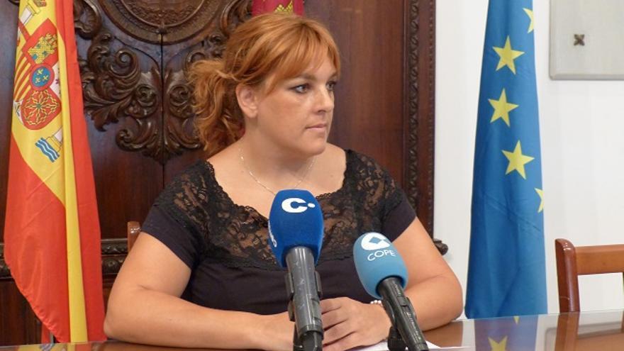 Gloria Martín, concejala de IU-Verdes de Lorca