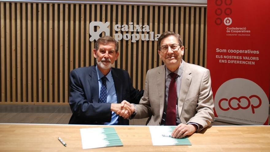Los representantes de las dos entidades han firmado el acuerdo