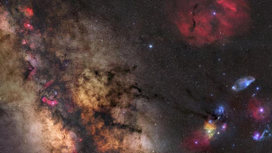Obra ganadora en la modalidad 'Cielo Profunto'. Título: Part of the Milky Way. Autor: Gerald Rhemann.