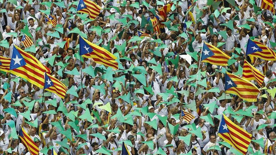 Societat Civil rebaja los asistentes a la manifestación de la Diada a 530.000