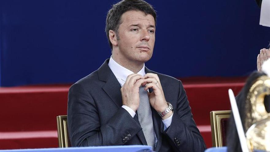 El primer ministro italiano, Matteo Renzi, en una imagen de archivo.