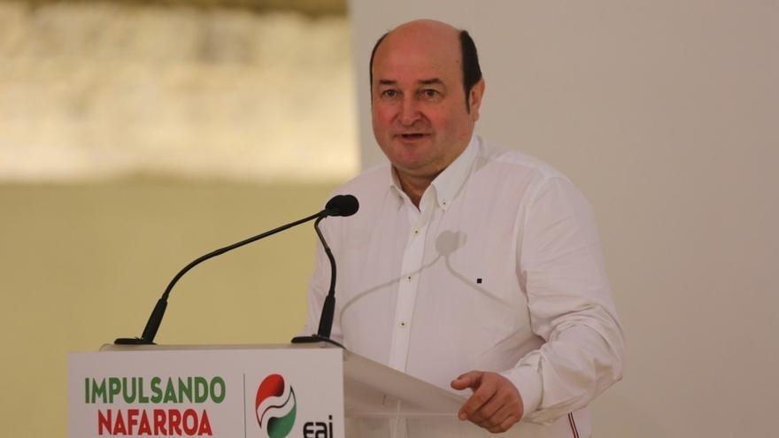 """PNV advierte a PP vasco que le acusa de """"seguir"""" a ETA cuando sus jefes le """"va a tocar la puerta"""" para apoyar PGE"""