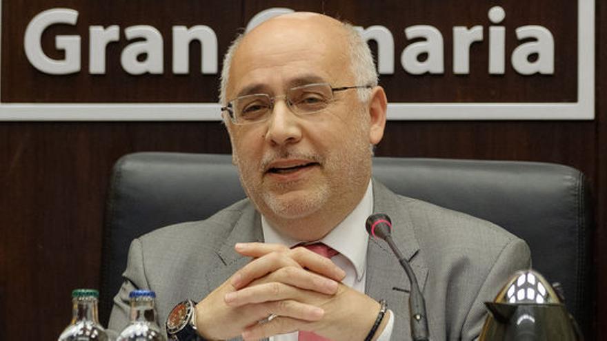 Antonio Morales, presidente del Cabildo de Gran Canaria. (FLICKR CABILDO DE GRAN CANARIA)