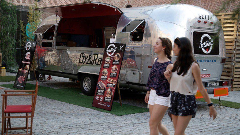 Uno de los food truck de Cine Garden | SOMOS MALASAÑA