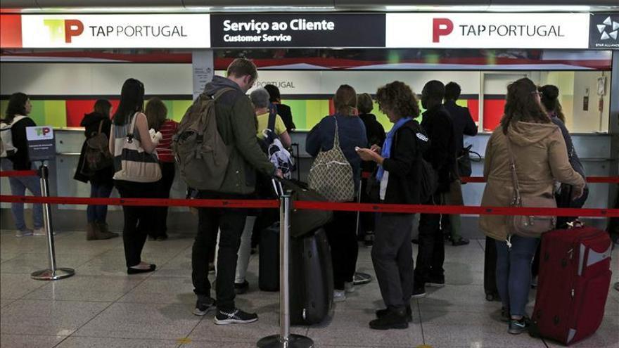 El último de los diez días de la huelga en TAP cancela el 30 por ciento de las rutas