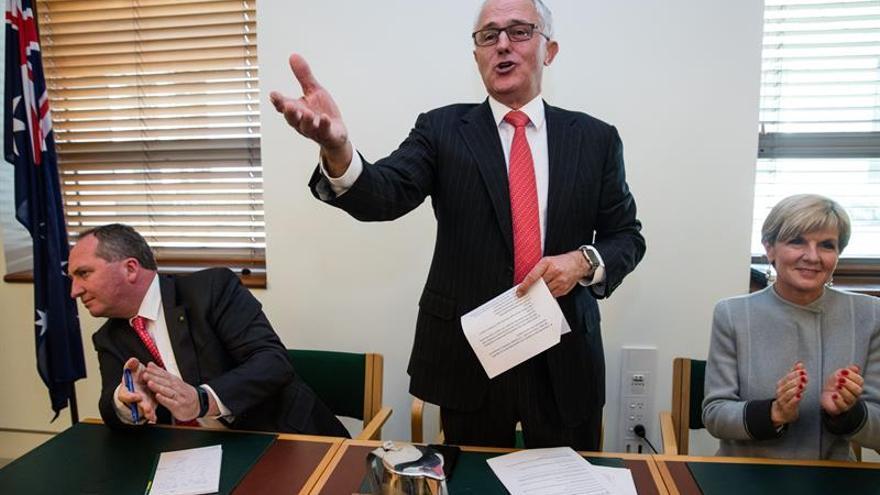 Los ministros del nuevo Gobierno de Turnbull juran sus cargos en Australia