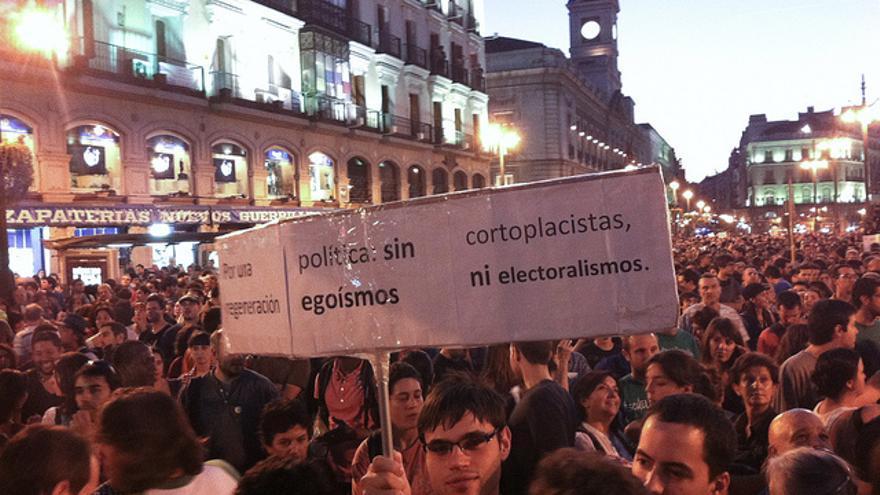 Manifestación en Madrid del 15 de octubre de 2011 (Juan Luis Sánchez)