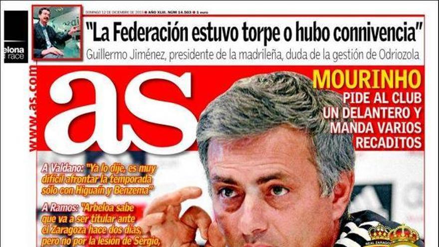 De las portadas del día (12/12/2010) #12