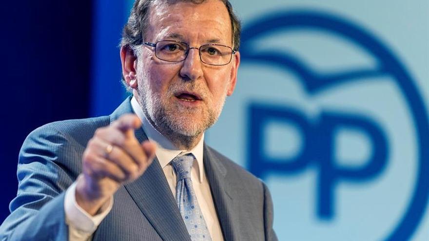 """Rajoy advierte ante el 26J de que """"la radicalidad es real en España"""""""